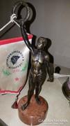 Elado bronz szobor olimpiai