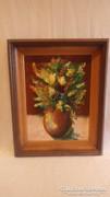 Gara G. virágcsendélet festmény