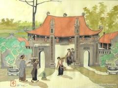 Kínai életkép - Sí Tuán jelz. (20.sz.közepe)