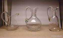 Három régi fujt üveg egyben