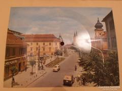 Colorvox zenélő képeslap, Sibill levele, Zalaegerszeg