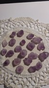 Ametiszt kövek, medál  gyűrű készítéséhez.