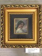 Pálya Celesztin festmény: Cigánylány