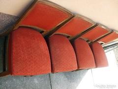 4 db Art deco szék