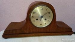 Tölgyfa furnéros kandalló óra