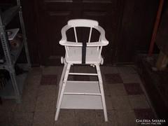 Retró gyermek etető szék