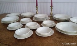 Zsolnay komplett étkészlet barokkos mintával