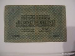 Csehszlovákia 1 Korun 1919.