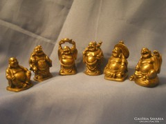 Buddha sorozat,6db szerencsét hozó