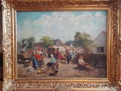 Gyertyáni Németh Gyula / Piaci vásár