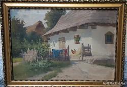 Zorkóczy Gyula Eredeti festménye