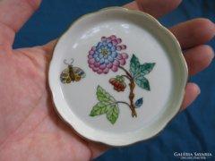 Régi herendi porcelán tálka / kínáló 8 cm átmérő