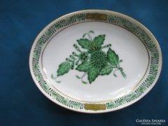 Jubileumi herendi Apponyi porcelán tálka/ékszertartó/hamus