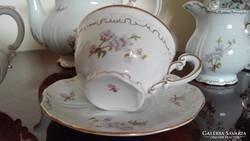 Gyönyörű , hibátlan Zsolnay teáskészlet