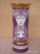 Hollóházi Szász Endre porcelán váza