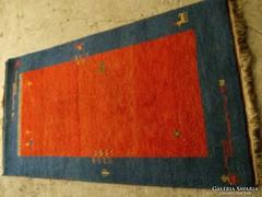 Szőnyeg , Gabbeh, újszerű,  gyapjú, kézi, 90x160 cm