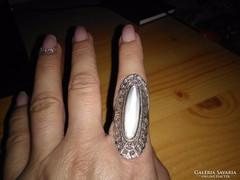 Exkluzív gyönyörű kézműves gyűrű