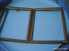 Fa keretek tükörnek,aranyszínű díszített U10