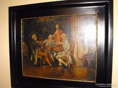 Enteriör festmény