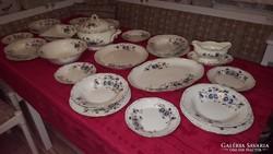Zsolnay búzavirág mintás porcelán étkészlet(25 részes)