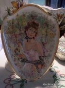 Impresszionista porcelán kép