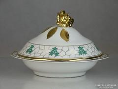 0L261 Orbán Gizi fedeles porcelán Drasche tál