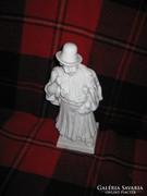 Herendi 32,5 cm fehér betyár figura II.