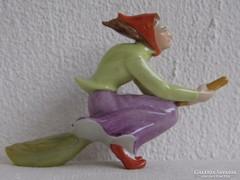 Drasche ritka seprűn lovagló boszorkány - hibátlan ritkaság!