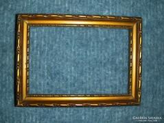 Régi fa képkeret 10,5*14,5 cm (g-4)