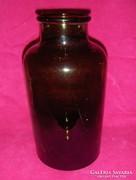 Antik 5 literes befőttes dunsztos üveg (pi-2)