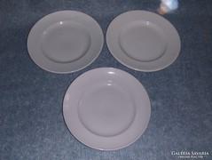 Drasche porcelán lapostányér tányér 3 db (s)