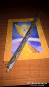 Gyönyörű, rombusz mintás ezüst karkötő