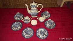 Angol porcelán teáskészlet 6 főre