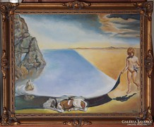 Salvador Dalí: Jómagam hatéves koromban, amikor kislánynak..