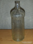 Régi feliratos szoknyás szódásüveg 0,7 literes CSONGRÁD (3)