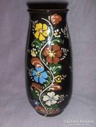 Népművészeti kerámia váza Hódmezővásárhely (fp)