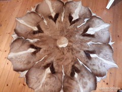 Afrikai gyűjteményből antilop szőrme falvédő, szőnyeg 180cm!