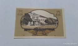 75 Heller,1920-as szükségpénz UNC !
