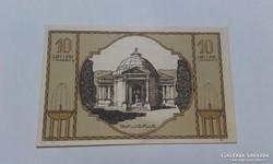 10 Heller 1920-as szükségpénz,UNC!