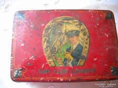 Antik dohánytartó doboz eladó!