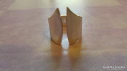 Felül nyitott 925 ezüst gyűrű