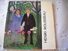 Henri Rousseau  A művészet kiskönyvtára eladó!
