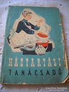 Antik könyv! Háztartási tanácsadó!