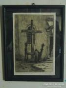 Páris Erzsi:Missiós keresztnél,1930.