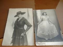 Sophie műtermi felvétel: 1917./Még egy hölgy fotó,