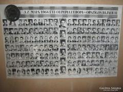 Az MHS 1964 évi olimpiai bajnokai!