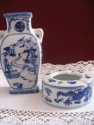 LEÁRAZVA! Kínai váza és tálka