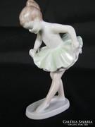 Hollóházi porcelán balerina kislány