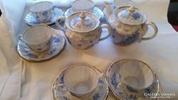 Orosz régi porcelán teás és sütis készlet