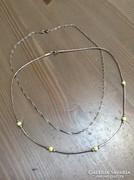 Régi ezüst nyakláncok egyben